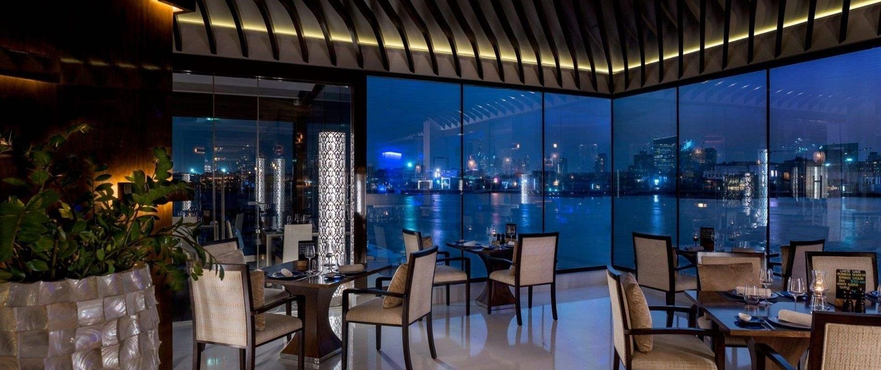 Beautiful creek views from our terrace Vivaldi Dubai